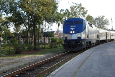 Standard Amtrak train